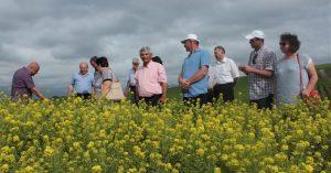 Schimb de experiență și verificarea îngrijirii culturilor agricole în raionul Floreşti