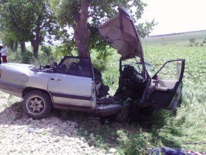 Accident rutier în raionul Floreşti