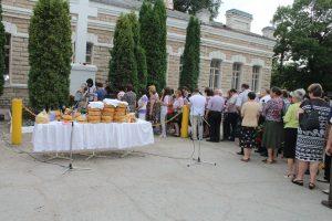 Mitingul de comemorare a victimelor deportărilor staliniste