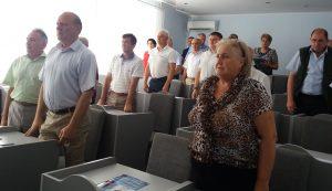 29 iunie 2017- ședința extraordinară a Consiliului raional Floreşti