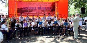 Festivalul fanfarelor în satul Vertiujeni