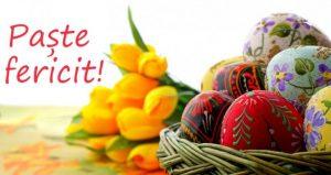 Un Paşte fericit!