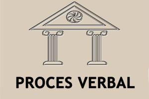 Proces verbal al şedinţei Consiliului raional Floreşti