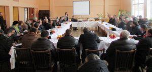 Ședința agricultorilor din raionul Florești