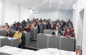 Ședința de supervizare în grup mare cu asistenții sociali la data de 01 februarie 2019