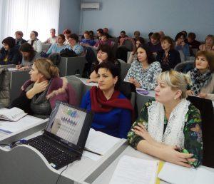 Ședinţă de lucru cu directorii adjuncţi pentru instruire din instituţiile de învăţământ primar şi secundar