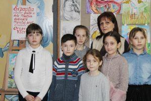 """Evenimentul cultural dedicat poetului Grigore Vieru ,,Pictează-mi o poezie"""""""