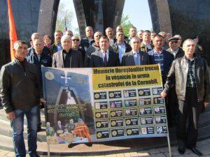 Victimele tragediei nucleare de la Cernobîl au fost comemorate la Florești
