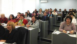 Ședință de lucru cu managerii școlari
