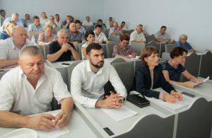 Şedinţa extraordinară a Consiliului raional Floreşti