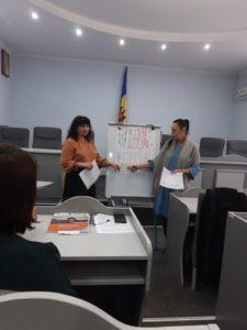 Atelier de lucru cu managerii şcolari