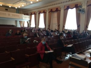 O şedinţă productivă a Consiliului raional Floreşti