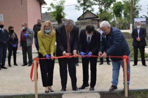 Încă două sate din raionul Floreşti beneficiază de apă potabilă la robinet