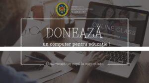 Donează un computer pentru educaţie!