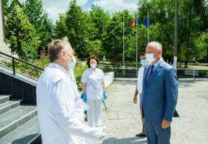Domnul Igor Dodon, în vizită la Floreşti
