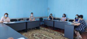 """Şedinţa de admitere a potenţialilor beneficiari în Serviciul social """"Echipa Mobilă"""""""