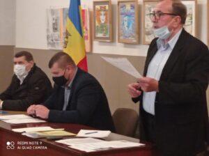 Ședința extraordinară a Consiliului raional Florești