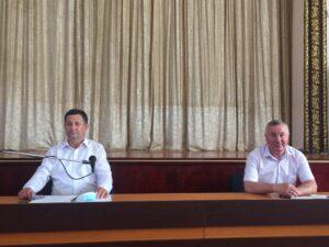 Colegiul Consultativ din Florești, întrunit în ședință