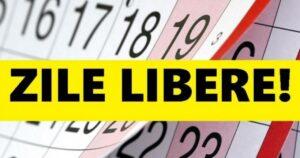 Minivacanţă în luna august pentru autorităţile şi instituţiile publice